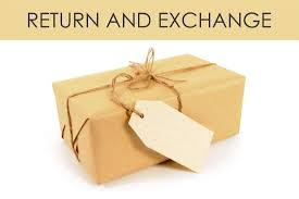 Exchange/Return Policy