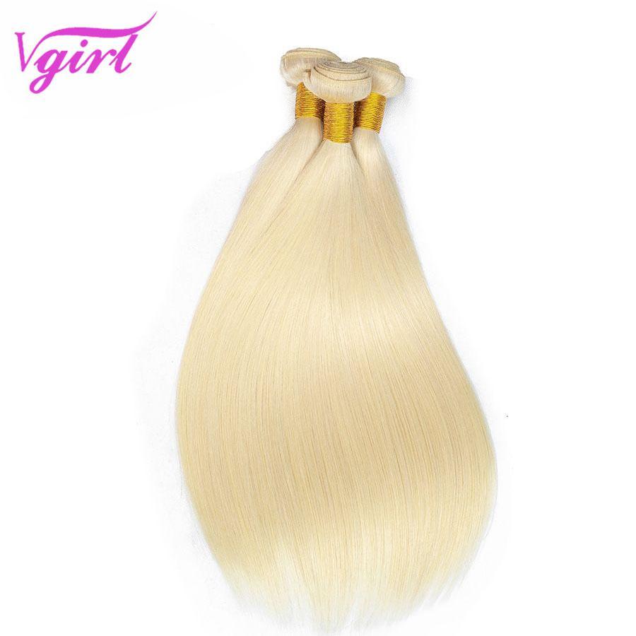 blonde-3 bundles with closure