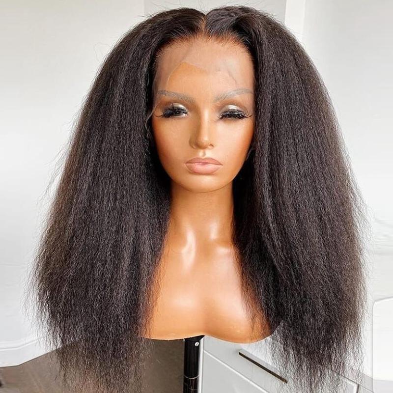 13×4-yaki-Kinky-Straight-13×4-Lace-Front-Human-Hair-Wig1